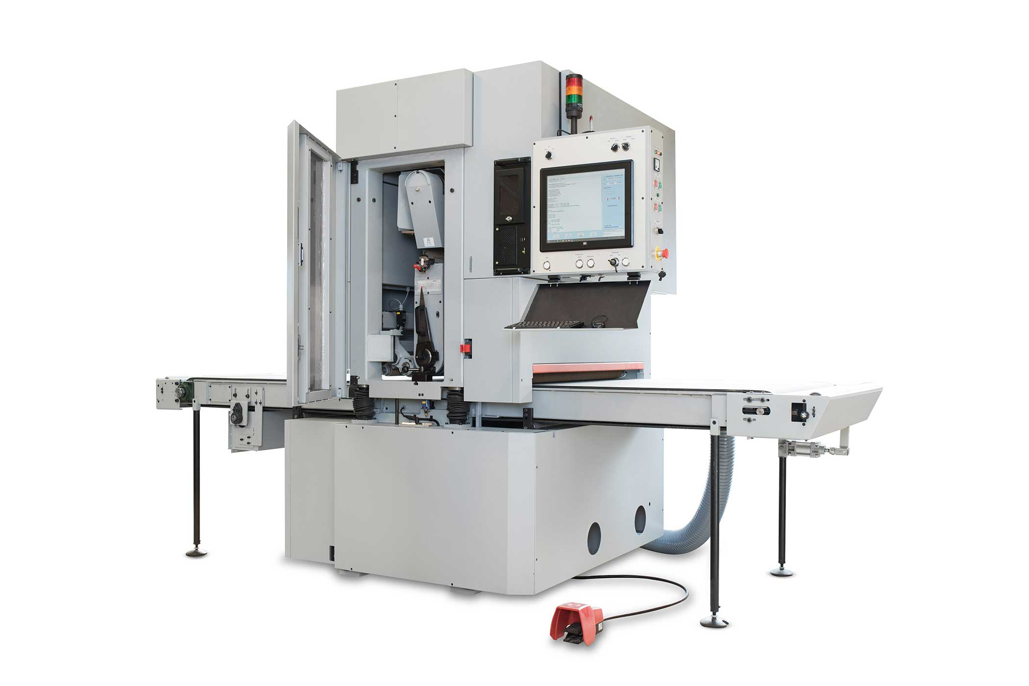 CNC Wide Belt Sander for Contouring